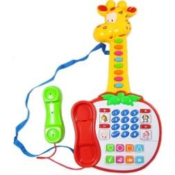 Guitarra Telefono Organeta Inteligente Para Bebes Sonidos