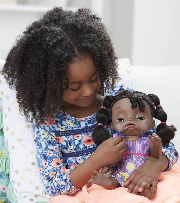 Mu 241 Eca Bebe Dulces Lagrimas De Baby Alive Afroamericana 35